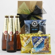 Beer and Nibbles Giftbox - Crown