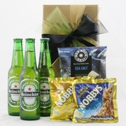 Beer and Nibbles Giftbox - Heineken