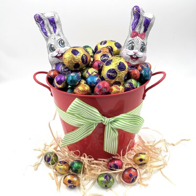Bucket of Easter Eggs