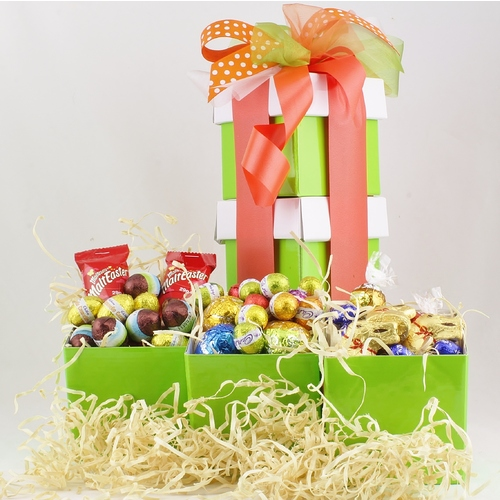 Chocolate easter baskets hampers order online express delivery chocolate easter baskets hampers order online express delivery to sydney brisbane melbourne negle Gallery