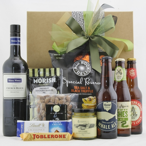 Craft Premium Beer Gift Hamper & Wine & Whiskey & Hipster